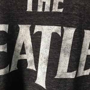 The Beatles Shirts - The Beatles Tee Charcoal Gray M